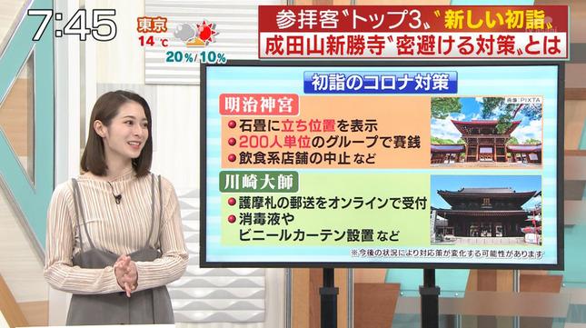 住田紗里 週刊ニュースリーダー ANNnews 17