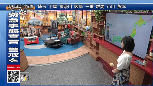 塩見泰子 ニュースきん5時 5