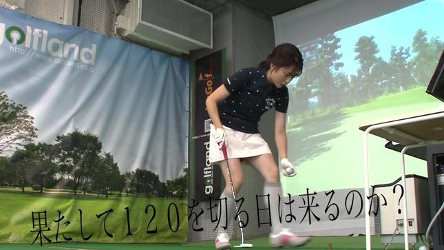 田中萌アナが120を切るまでの物語 25