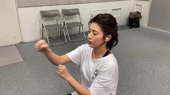 田中萌アナ10日間の記録 女子アナダンス部 33