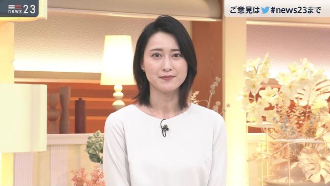 小川彩佳 news23 山本恵里伽 17