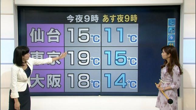 小郷知子 寺川奈津美 NHKニュース7 12