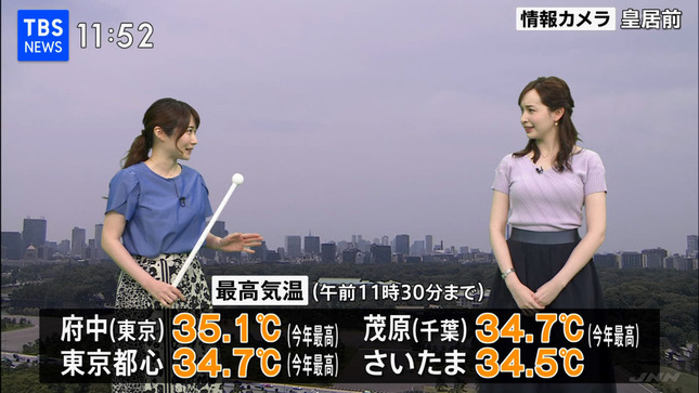 宇賀神メグ TBSニュース ひるおび! 12