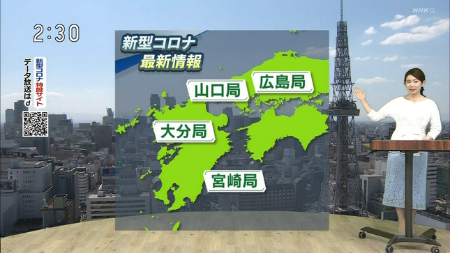 橋詰彩季 列島ニュース おはよう東海 8
