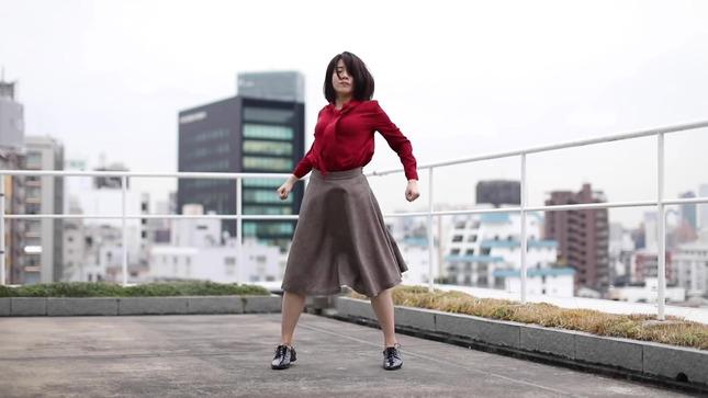 テレ朝 田中萌アナが本気でフル尺踊ってみた 3