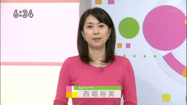 西堀裕美 おはよう日本 05