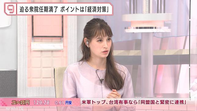 トラウデン直美 日経ニュースプラス9 2