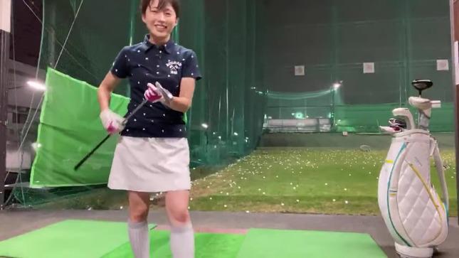 田中萌アナが120を切るまでの物語 13