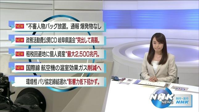 片山千恵子 サキどり↑ NHKニュース6