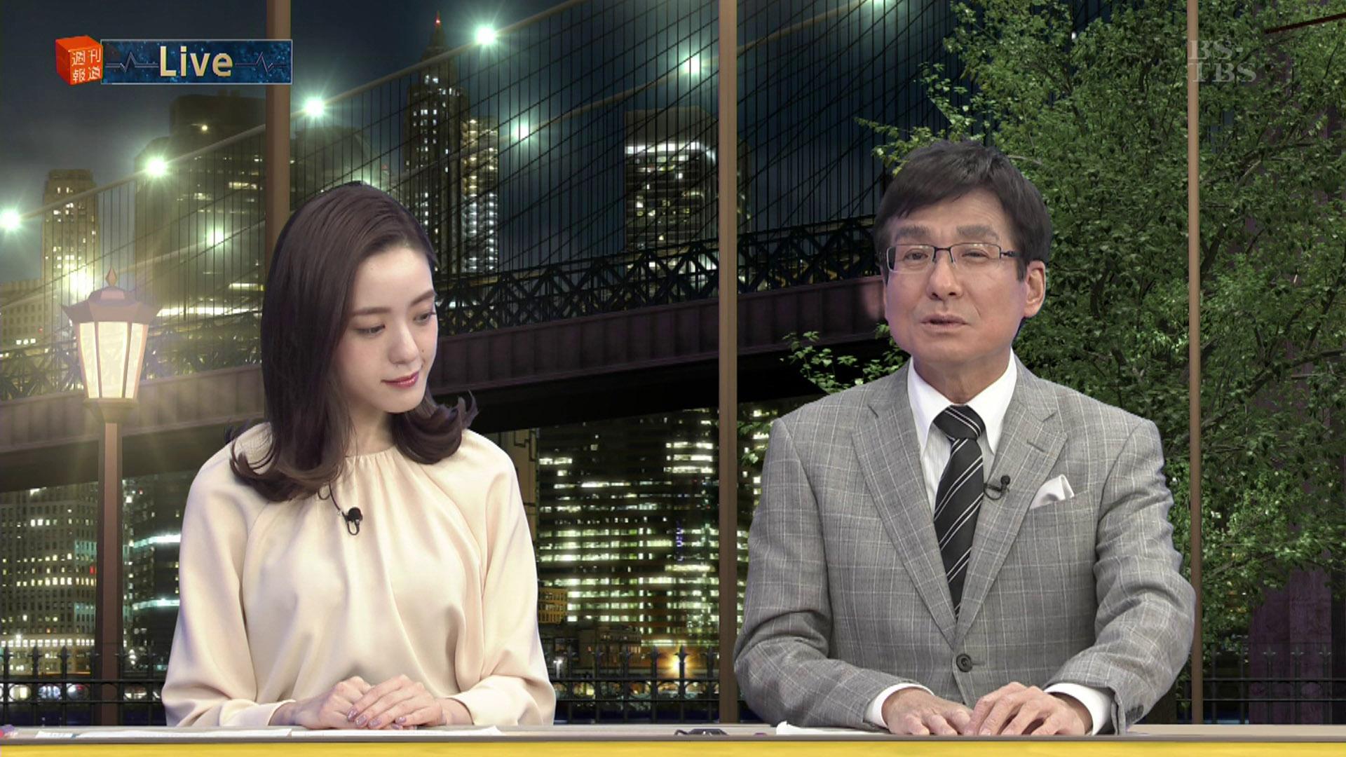 古谷有美アナ 週刊報道Bizストリート