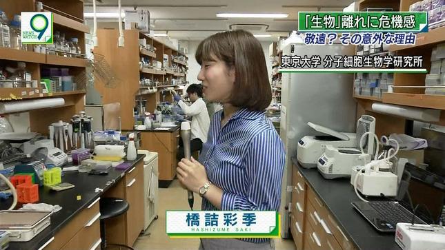 橋詰彩季 ニュースウオッチ9 3