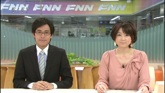 秋元優里 FNNニュース06