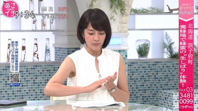 鈴木奈穂子 あさイチ 12