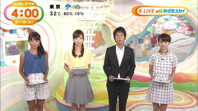 長野美郷 牧野結美 めざましテレビアクア めざましテレビ 02