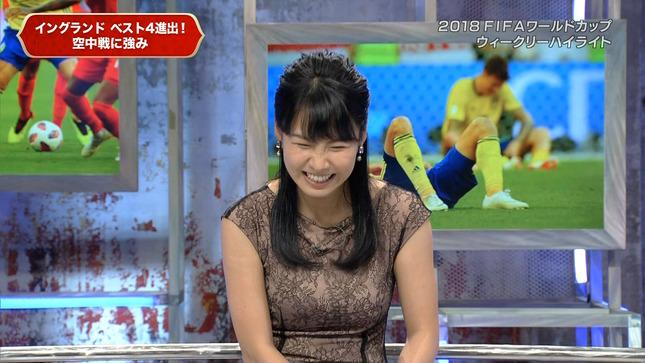 澤田彩香 2018FIFAワールドカップウイークリーハイライト 14