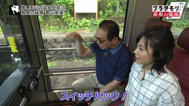 林田理沙アナ ブラタモリ