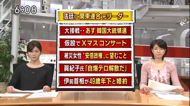 上山千穂 スーパーJチャンネル