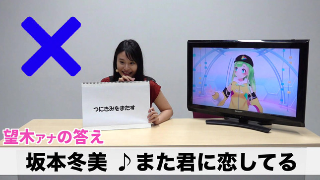 望木聡子 望木アナのアーティストになろう! 9