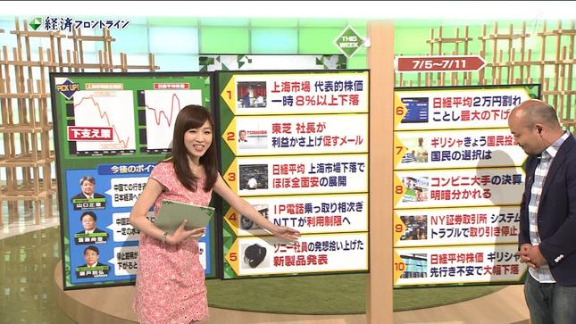 竹内優美 経済フロントライン 07