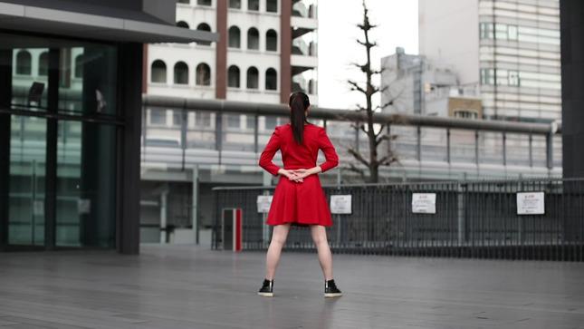 住田紗里アナが本気でフル尺踊ってみた 女子アナダンス部 1