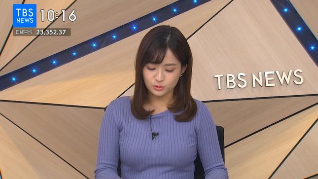 篠原梨菜 TBSニュース 1番だけが知っている 2