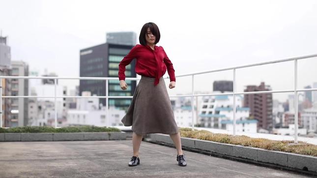 テレ朝 田中萌アナが本気でフル尺踊ってみた 9