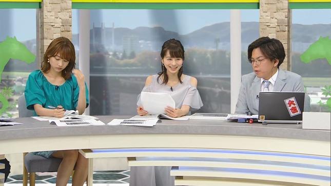 高見侑里 高田秋 BSイレブン競馬中継 くりぃむクイズミラクル9 8