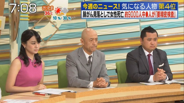 池谷麻依 週刊ニュースリーダー お願い!ランキング 9