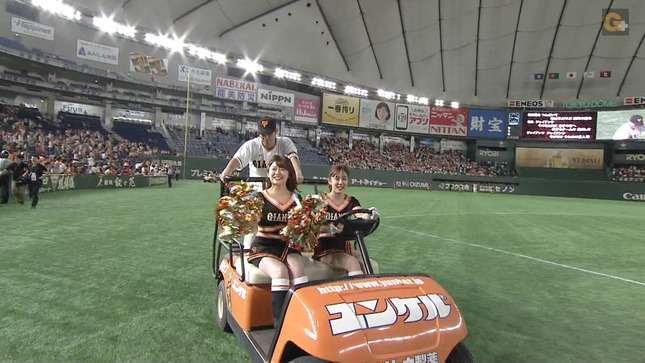 尾崎里紗 プロ野球「巨人×広島」 22