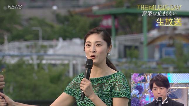 THE MUSIC DAY 2021 滝菜月 貴島明日香 市來玲奈 11