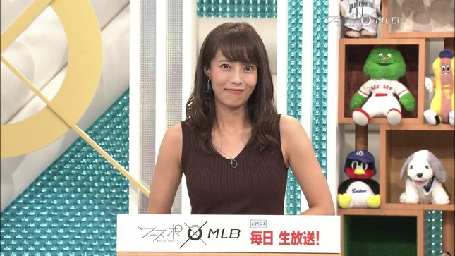 上田まりえ ワールドスポーツMLB 14