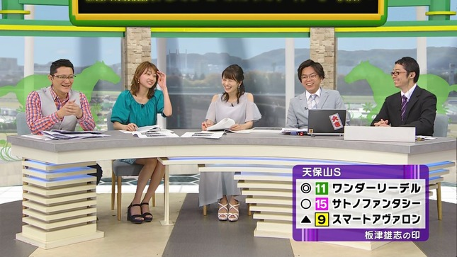 高見侑里 高田秋 BSイレブン競馬中継 くりぃむクイズミラクル9 9