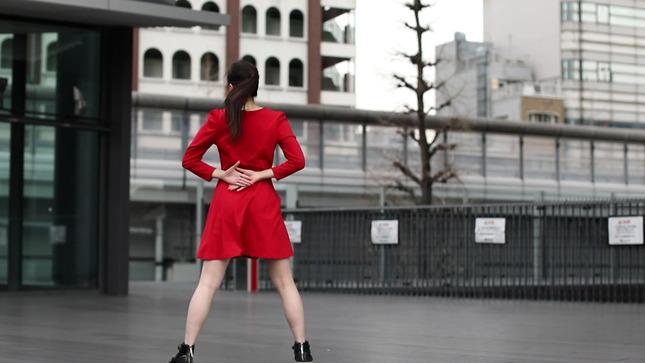 住田紗里アナが本気でフル尺踊ってみた 女子アナダンス部 19