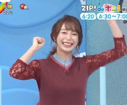 宇垣美里 ZIP! 13