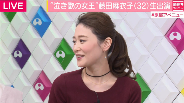 森葉子 原宿アベニュー ANNnews 12