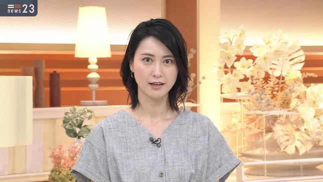 小川彩佳 news23 山本恵里伽 10