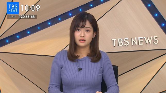 篠原梨菜 TBSニュース 1番だけが知っている 1