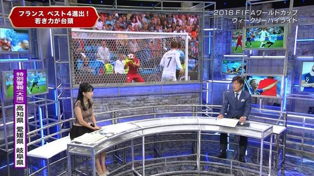 澤田彩香 2018FIFAワールドカップウイークリーハイライト 10