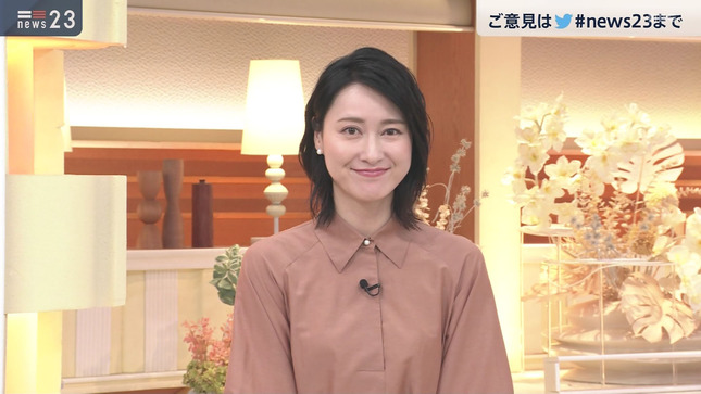 小川彩佳 news23 山本恵里伽 20