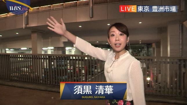 須黒清華 ワールドビジネスサテライト 3