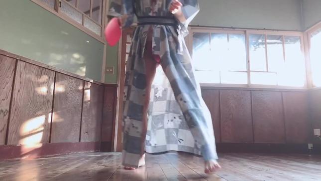 脊山麻理子 YouTube 浴衣で温泉卓球 18