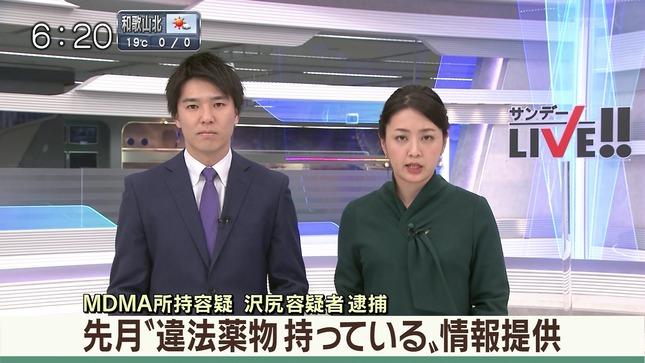 矢島悠子 サンデーLIVE!! ANNnews 6