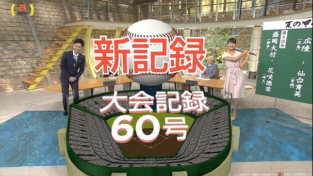 紀真耶 高島彩 サタデー サンデーステーション 2
