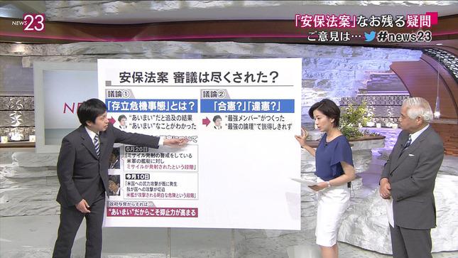 膳場貴子 News23 01