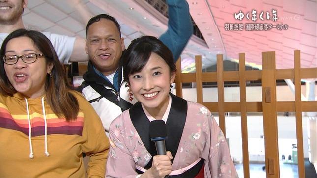 林田理沙 ブラタモリ×鶴瓶の家族に乾杯新春SP ゆく年くる年 14