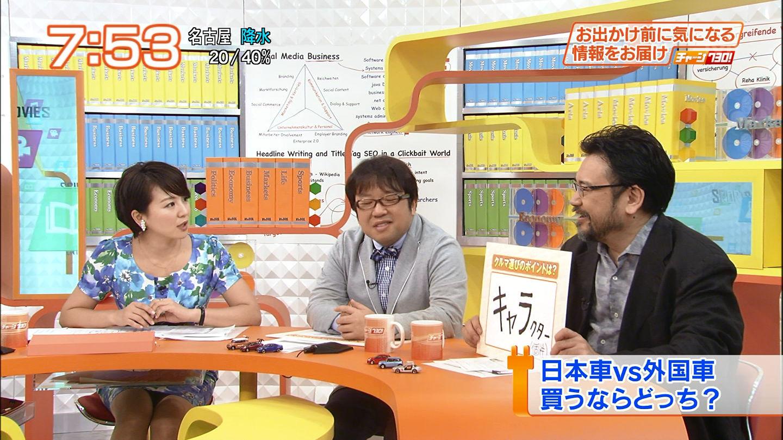 大橋未歩アナ ミニスカ▼ゾーン☆☆