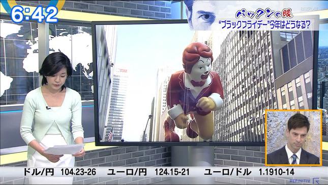 西野志海 ニュースモーニングサテライト 12