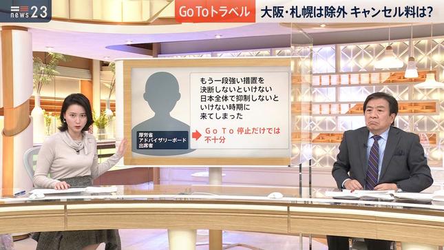 小川彩佳 news23 TBSニュース 7