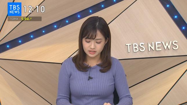 篠原梨菜 TBSニュース 1番だけが知っている 11