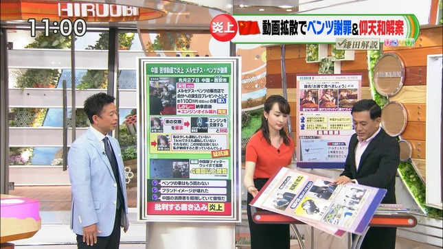 宇賀神メグ ひるおび! JNNニュース 8